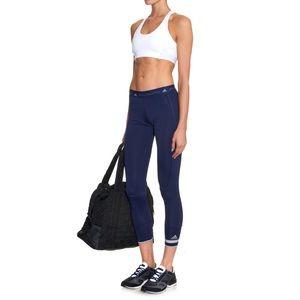 Adidas by Stella McCartney Navy Blue 7/8 Leggings